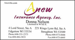 Anew Insurance Agency | Edgerton