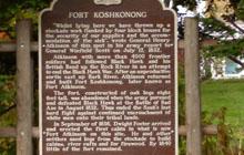 Fort Koshkonong Marker