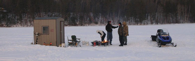 Ice Fishing | Photo credit Jeager Steve