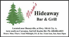 Norms Hideaway Bar and Grill | Near Busseyville