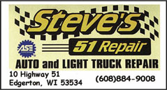 Steves 51 Repair | Edgerton