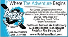 Paddle and Trail | Edgerton