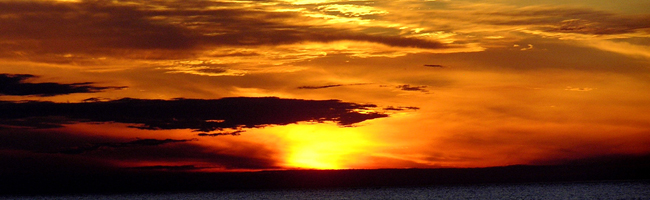 Sunset on Lake Koshkonong