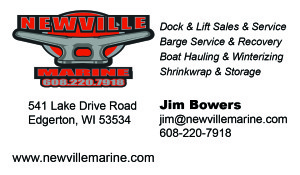 Newville Marine Dock Lifts Repair Sales Koshkonong Edgerton