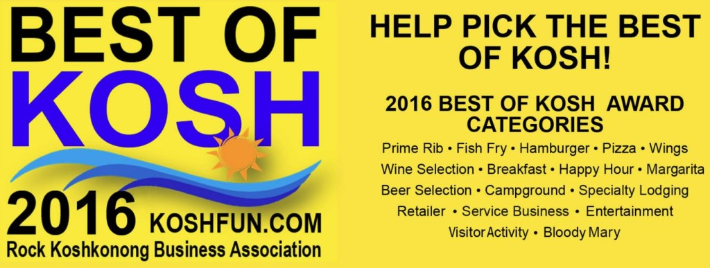 Rock Koshkonong Business Assocation Annual Dinner and Awards – Best of Kosh 2015 @ Anchor Inn @ |  |  |