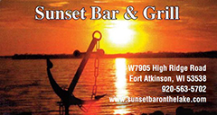 Sunset Bar & Grill | Fort Atkinson