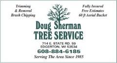 Doug Sherman tree service
