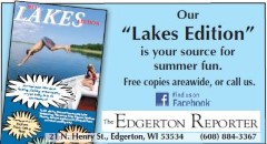 edgerton reporter - lakes edition