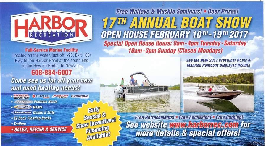 Harbor Recreation's 17th Annual Open House @ Harbor Recreation Marina   Milton   Wisconsin   United States
