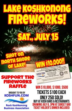 LAKE FIREWORKS JULY 15