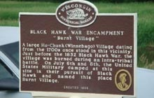 Blackhawk War Encampment | Burnt Village