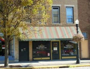 Edgerton Books and Art Wisconsin downtown Kosh Fun