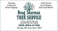 Doug Sherman tree service
